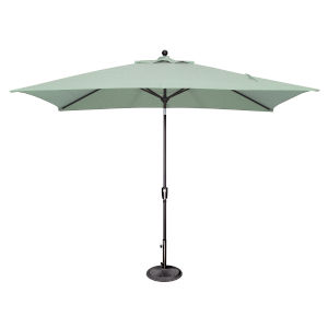 Catalina Spa and Black Push Button Market Umbrella