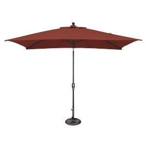 Catalina Henna and Black Push Button Market Umbrella