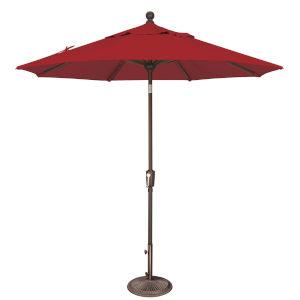 Catalina Really Red 90-Inch  Market Umbrella