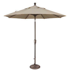 Catalina Beige 90-Inch  Market Umbrella