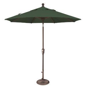Catalina Forest Green 90-Inch  Market Umbrella