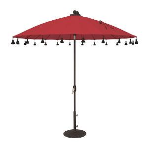 Isabela Ginkgo Round Auto Tilt Market Umbrella