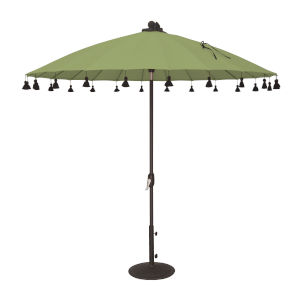 Isabela Green 8.5-Feet Round Auto Tilt Umbrella