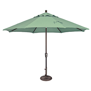 Catalina 11 Foot Sunbrella Spa Octagon Push Button Tilt