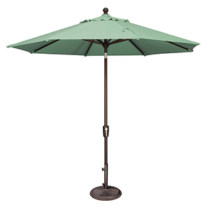 Catalina 9 Foot Sunbrella Spa Octagon Push Button Tilt