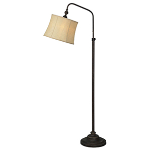 Freeman Weathered Metal 59-Inch One-Light Floor Lamp