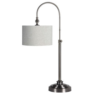 Ford Brushed Nickle One-Light 36-Inch Desk Lamp