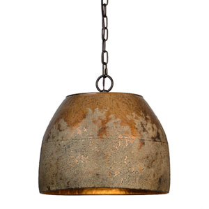 Heritage Washed Gold One-Light Pendant