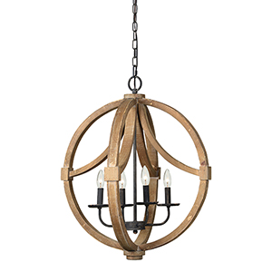 June Driftwood Chandelier