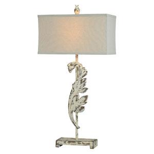 Jolene Cottage White One-Light Table Lamp