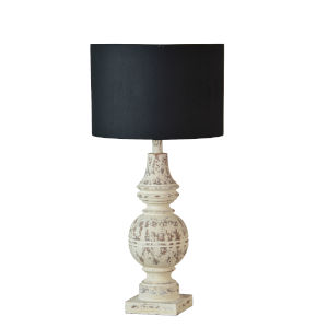 Caitlin Cottage White One-Light 33-Inch Table Lamp