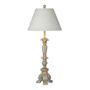 London Rustic Blue One-Light 33-Inch Table Lamp