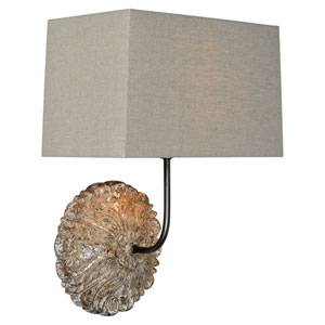Eden White Wash One-Light Wall Sconce