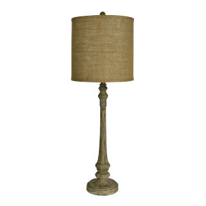 Chandler Wood Grain One-Light 36-Inch Buffet Lamp
