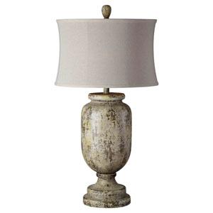 49ebf0ed46e Forty West Eloise Dusky Blue And Copper One Light Buffet Lamp 71067 ...
