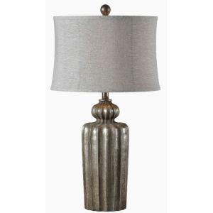 Clayton Silverleaf One-Light 30-Inch Table lamp