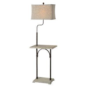 Cottage White 64-Inch One-Light Floor Lamp