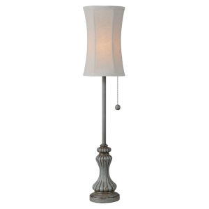 Avery Antique Blue One-Light 28-Inch Buffet Lamp