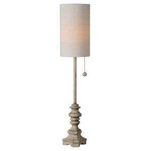 Mabry Cream One-Light 28-Inch Buffet Lamp