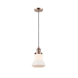 Bellmont Antique Copper Six-Inch LED Mini Pendant