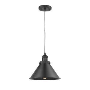 Briarcliff Matte Black LED Pendant