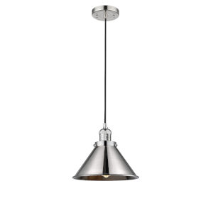 Briarcliff Polished Nickel One-Light Pendant