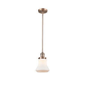 Bellmont Antique Copper Seven-Inch LED Mini Pendant
