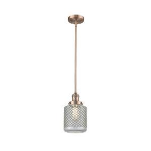 Stanton Antique Copper One-Light Mini Pendant