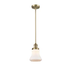 Bellmont Brushed Brass Seven-Inch LED Mini Pendant