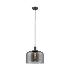 X-Large Bell Oil Rubbed Bronze LED Hang Straight Swivel Pendant