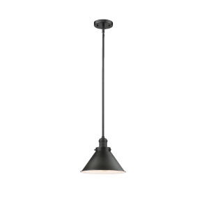 Briarcliff Oil Rubbed Bronze One-Light Hang Straight Swivel Pendant