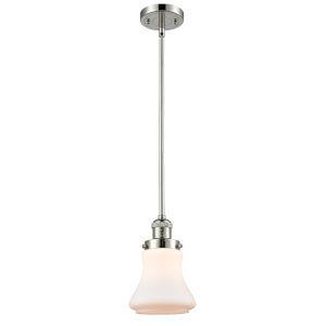 Bellmont Polished Nickel Seven-Inch LED Mini Pendant