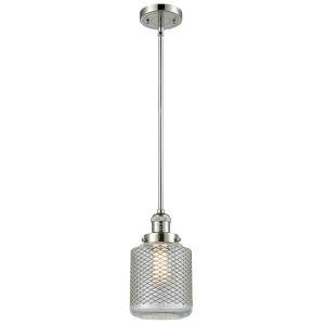 Stanton Polished Nickel One-Light Mini Pendant