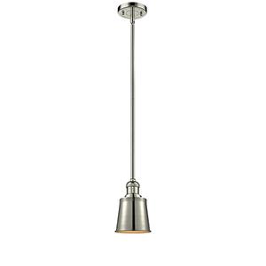 Addison Polished Nickel Six-Inch LED Mini Pendant