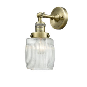 Colton Antique Brass LED Wall Sconce