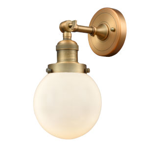 Beacon Brushed Brass LED Wall Sconce