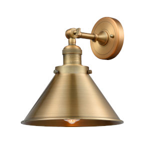 Briarcliff Brushed Brass One-Light Wall Sconce