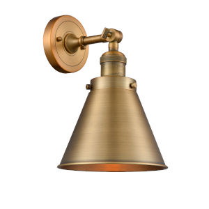 Appalachian Brushed Brass One-Light Wall Sconce