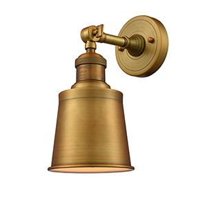 Addison Brushed Brass LED Wall Sconce