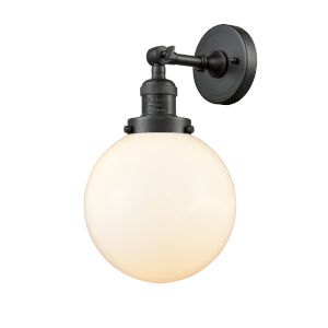 Large Beacon Oil Rubbed Bronze One-Light Wall Sconce