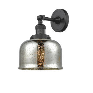 Large Bell Oil Rubbed Bronze One-Light Wall Sconce