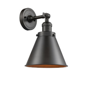 Franklin Restoration Oil Rubbed Bronze 13-Inch LED Wall Sconce with Appalachian Oil Rubbed Bronze Metal Shade