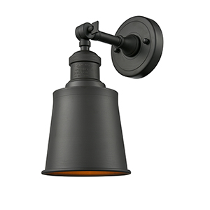 Addison Oiled Rubbed Bronze One-Light Wall Sconce