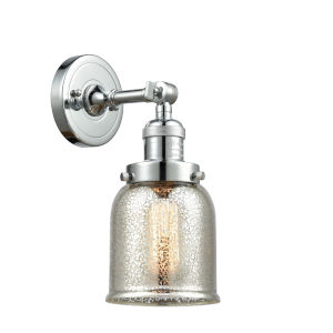 Franklin Restoration Polished Chrome Five-Inch LED Wall Sconce