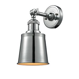 Addison Polished Chrome One-Light Wall Sconce