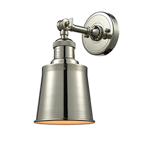 Addison Polished Nickel One-Light Wall Sconce