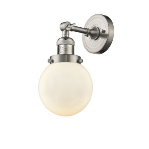 Beacon Brushed Satin Nickel LED Wall Sconce