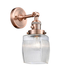Colton Antique Copper One-Light Wall Sconce