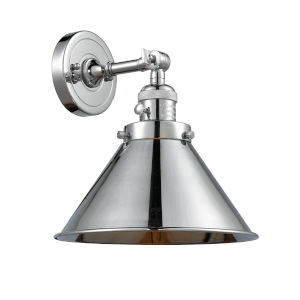 Franklin Restoration Polished Chrome 10-Inch One-Light Wall Sconce