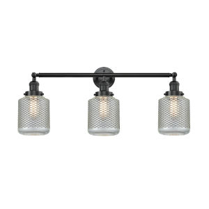 Stanton Oil Rubbed Bronze Three-Light Bath Vanity